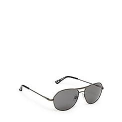 Ben Sherman - Dark grey aviator sunglasses