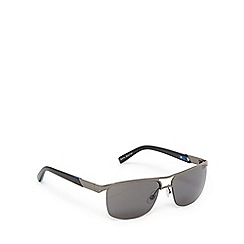 Suuna - Gunmetal semi-rimless aviator sunglasses