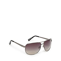 Suuna - Gunmetal and grey aviator sunglasses