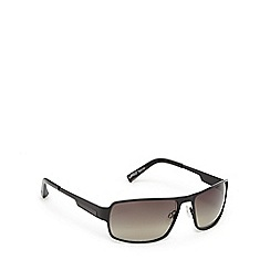 Suuna - Black and brown rectangular sunglasses