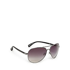 Suuna - Silver and grey aviator sunglasses