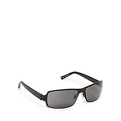 Suuna - Black and grey wrap-around sunglasses