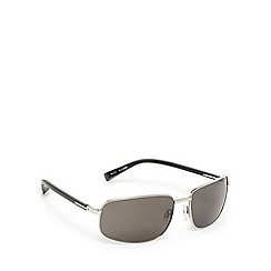 Suuna - Silver and grey rectangular sunglasses