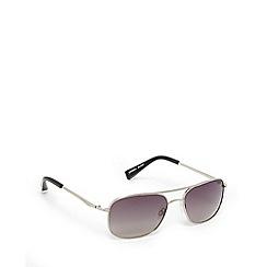 Suuna - Silver aviator sunglasses