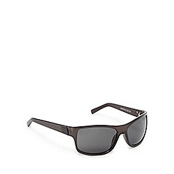 Suuna - Black wrap-around sunglasses