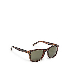 Suuna - Brown and green tortoiseshell D-frame sunglasses