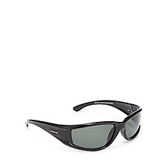Dirty Dog - Green polarised D-frame sunglasses