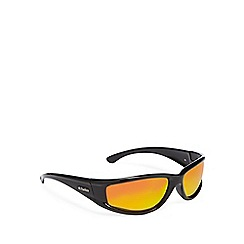 Dirty Dog - Black polarised D-frame sunglasses