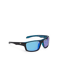 Dirty Dog - Black polarised rectangle sunglasses