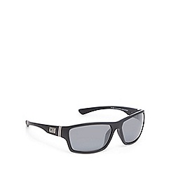 Dirty Dog - Black polarised square sunglasses