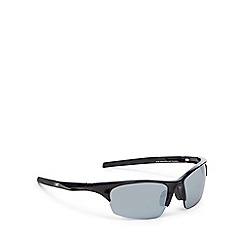 Dirty Dog - Black polarised semi rimless sunglasses