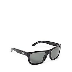 Dirty Dog - Green polarised tinted square sunglasses