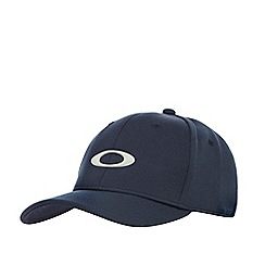 Oakley - Navy logo applique baseball cap