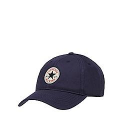 Converse - Navy twill baseball cap