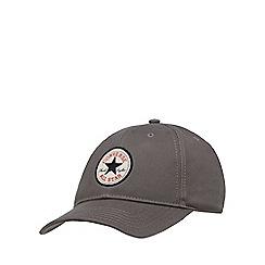 Converse - Grey twill baseball cap