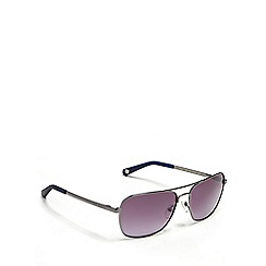 Ted Baker - Grey aviator sunglasses