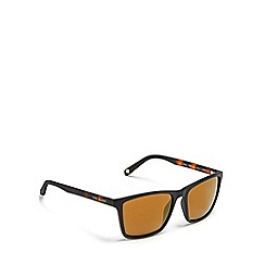 Ted Baker - Black rectangle sunglasses