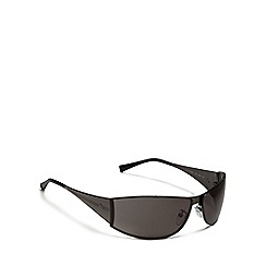 Police - Black tinted rectangle sunglasses
