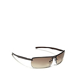 Police - Brown tinted rectangle sunglasses