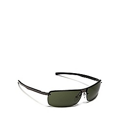 Police - Green tinted rectangle sunglasses