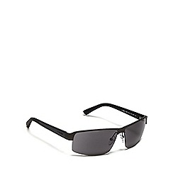 Police - Navy tinted rectangular sunglasses