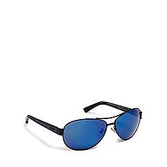 Police - Blue tinted aviator sunglasses