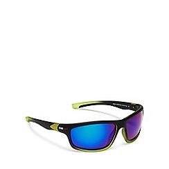 Stormtech - Black and yellow rectangular sunglasses