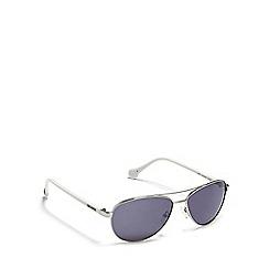 Converse - Silver aviator sunglasses