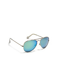 Converse - Multi colour flat aviator sunglasses