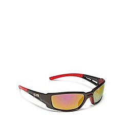 Stormtech - Grey and red rectangle sunglasses
