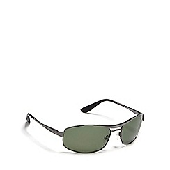 Dirty Dog - Green 'Ace' polarised sunglasses