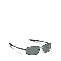 Dirty Dog - Green 'Goose' polarised rectangle sunglasses