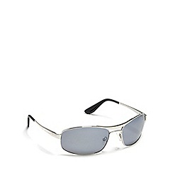 Dirty Dog - Silver 'Ace' polarised sunglasses