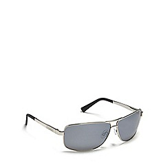Dirty Dog - Silver 'Steed' polarised sunglasses