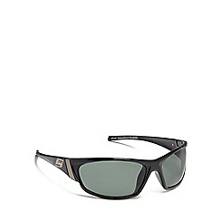 Dirty Dog - Green 'Stoat' polarised wrap-around sunglasses