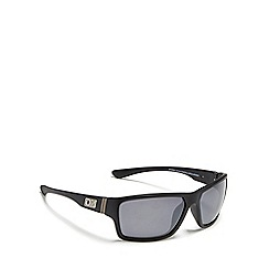Dirty Dog - Silver 'Storm' polarised wrap-around sunglasses