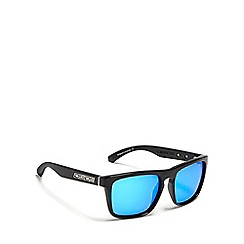 Dirty Dog - Black 'Monza' polarised wayfarer sunglasses