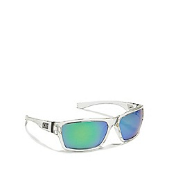 Dirty Dog - Clear 'Storm' polarised square sunglasses