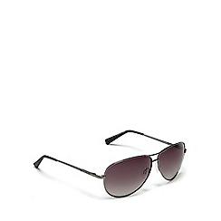 Bloc - Silver 'navigator' aviator sunglasses