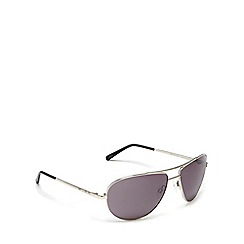Bloc - Silver 'hurricane' aviator sunglasses