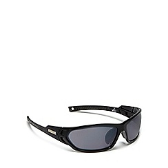 Bloc - Black 'scorpion' rectangle sunglasses