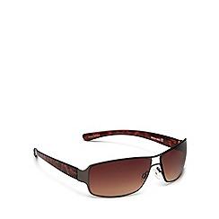 Bloc - Grey 'billy' rectangle sunglasses