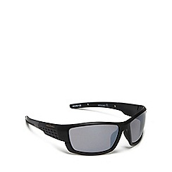 Bloc - Black 'delta' rectangle sunglasses