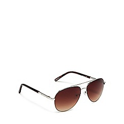 Bloc - Silver 'dune' aviator sunglasses