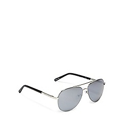 Bloc - Silver aviator sunglasses