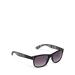 Bloc - Black 'wave' square sunglasses