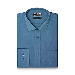 The Collection - Blue textured tailored fit shirt