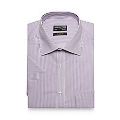 The Collection - Purple striped print regular fit shirt