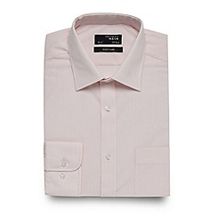 Thomas Nash - Big and tall pink regular fit shirt