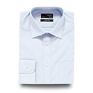 Thomas Nash - Light blue plain regular fit shirt